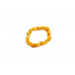 Bracelet Ambre jaune lait  pour Enfants