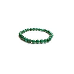 Bracelet en pierre Malachite