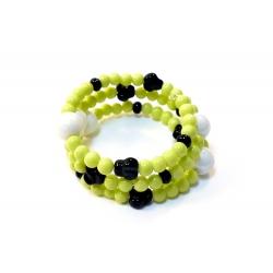 Bracelet en verre Minimum Noir