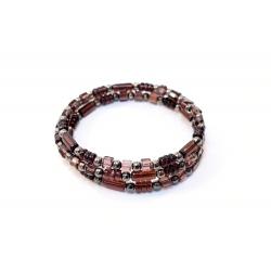 Bracelet en couleur Prune