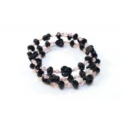 Bracelet Rose et Noir